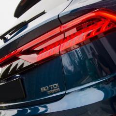 Audi Q8 Folie PPF oraz zestaw powłok ceramicznych