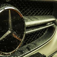 Mercedes S63 AMG Cabrio pakiet Hybryda King + bezbarwne folie ochronne