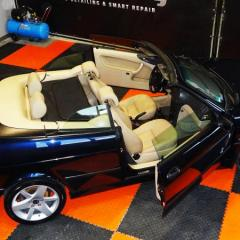 Saab 9-3 Cabrio - korekta lakieru, pakiet skóra, impregnacja dachu cabrio